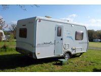 Superb 2 berth Hymer Nova 470 Touring Caravan