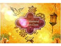 Weekend Quran Classes For Teens (Sisters)