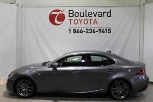 2014 LEXUS IS 250 * AWD F-SPORT *