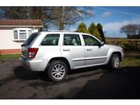 Jeep Grand Cherokee Overland 3ltr CVR Diesel Automatic