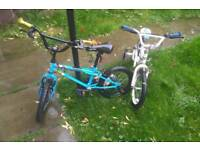 2 boys bikes