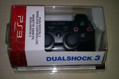 New Six Axis DualShock 3 Wireless Controller for sony PS3 Black on Rummage