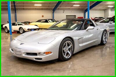 1997 Silver Chevrolet Corvette   | C5 Corvette Photo 1