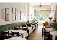 Experienced waiter/waitress required for Italian restaurant in Stepney Green