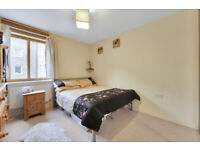 Larger than average modern one-bedroom apartment with a private balcony,