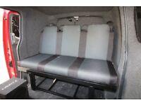 Nissan NV200 3 Seat Rock And Roll Bed/Seat VW T4, T5, T6, Vivaro, Transit, Bongo, FREE FITTING