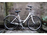 RALEIGH CAPRICE AIRLITE, ladies women's dutch style city bike, 19 inch, loop frame, 3 speed