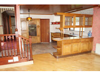 complete Oak kitchen and appliances