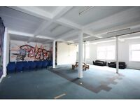 Office, 2 floors of workshop, unit space, storage, studio or office comprising around 4,000 sq ft