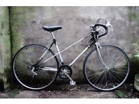 TOWNSEND CORCELLE, 19 inch, vintage ladies womens racer racing road bike, 5 speed