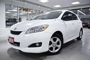 2014 Toyota Matrix TOURING, ROOF, ALLOYS, PWR GRP, NO ACCIDENT,