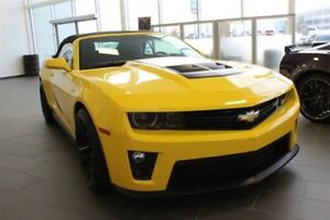 2013 Chevrolet Camaro ZL1  Nav  Heat Suede/Leath Seat  Mag Ride 
