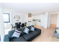 3 Bed apartment available in Canary wharf, close to Dlr, Blackwall, E14 -TG