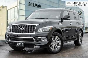 2016 Infiniti QX80 AWD, Navigation! TV/DVD!