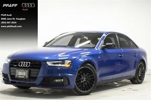 2015 Audi A4 2.0T Progressiv plus qtro 8sp Tip