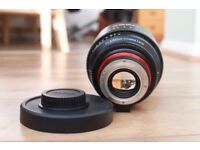 XEEN (rokinon) 85mm Cine Lens canon ef Mount