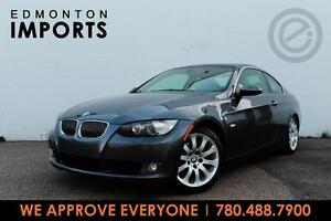 2007 BMW 328I COUPE   CERTIFIED   ONLY 93 KMS