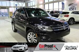 2012 Volkswagen Tiguan 2.0 AWD, Leather, Bluetooth, Sunroof