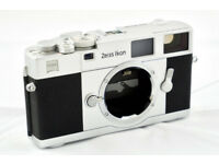 Zeiss Ikon ZM - 35mm Rangefinder Film Camera - Leica M mount