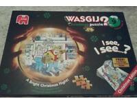 Wasgij jisaws x 3 complete like new