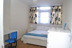STUNNING LARGE FULLY FURNISHED DOUBLE ROOM IN FLAT SHARE CLOSE TO THE CITY - ALL BILLS INCLUSIVE