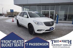 2014 Buick Enclave Leather AWD - REAR VISION CAMERA & ALERT SYST
