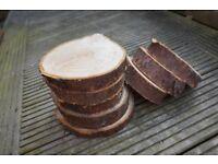 Log slices / Centre Pieces / Wedding / Arts & Crafts / Candle Holder