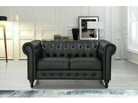 🔵💖SALE ON🔵💖CHESTERFIELD PU LEATHER SOFA 2 SEATER-CASH ON DELIVERY🔵💖🔴
