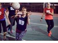 Play Social Netball in Central London