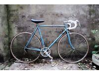PEUGEOT, vintage racer racing road bike, 22.5 inch, 10 speed