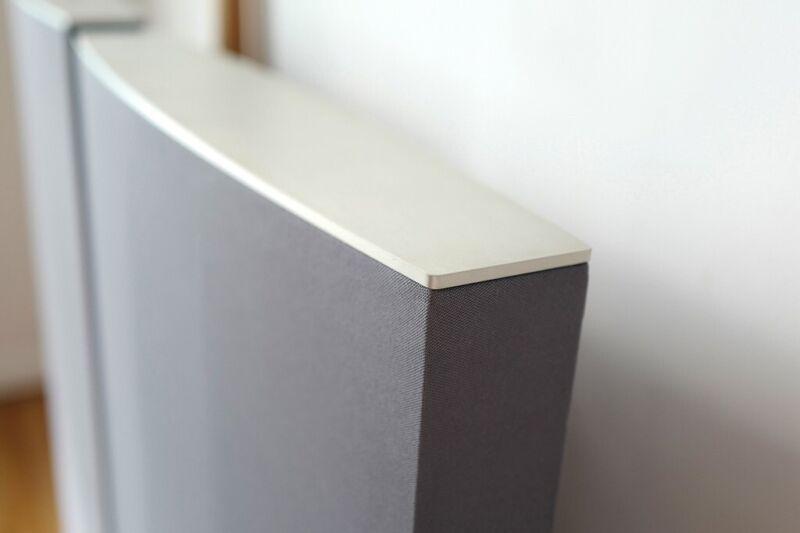 Quad ESL 989 Electrostatic Floorstanding Speakers Grey Silver Floor standing £1000 for sale  Manor House, North London