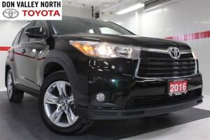 2016 Toyota Highlander LIMITED AWD V6 Sunroof Nav Btooth Heated