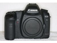 Canon EOS 5D Mark II 21.1MP Full Frame Digital SLR Camera - Genuine Battery Grip BG-E6