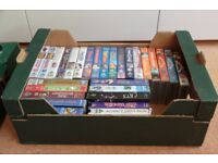 51 Children and Family VHS Videos
