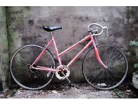 RALEIGH CHLOE, vintage ladies women's racer racing road bike, 20 inch, 5 speed