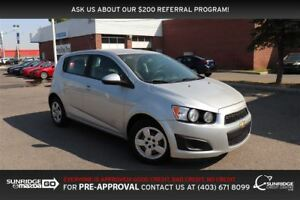 2014 Chevrolet Sonic LS Auto, CLOTH, BLUETOOTH, AUX