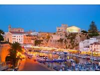 Flights to Menorca ☀️✈️