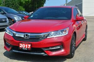 2017 Honda Accord Sport/RARE RED! APPLE CAR PLAY! PUSH TO START!