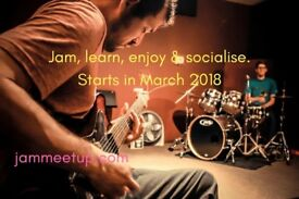 Jam With Like-Minded Musicians All Over London