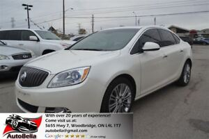 2012 Buick Verano Navigation Sunroof Leather Package