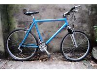 RALEIGH STONEFLY, 22 inch, 56 cm, hybrid road city bike, 21 speed