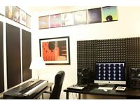 Great little music writing and recording room