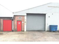 industrial unit / garage /storage lockup to let in bury lancashire approx 2000 sq ft
