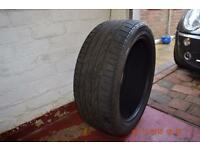 Bridgestone dueller 19 inch tyre taken from ford kuga