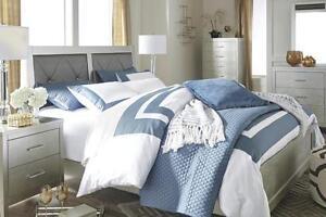 Olivet Ashley queen size bed set for sale