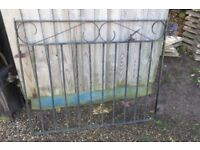 WROUGHT IRON GATE WITH LATCH - NR. TUNSTEAD NR12