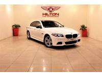 BMW 5 SERIES 2.0 520D M SPORT 4d AUTO 181 BHP NO DEPOSIT NEED - DRIVE AWAY TODAY (white) 2012