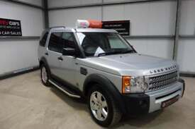 LAND ROVER DISCOVERY 2.7 Td V6 HSE Auto (silver) 2007