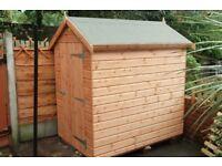 Apex roof sheds