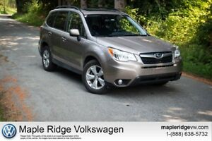 2015 Subaru Forester 2.5i Low KM